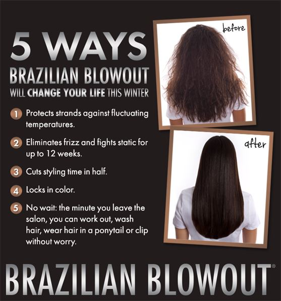 Brazilian blowout official salon